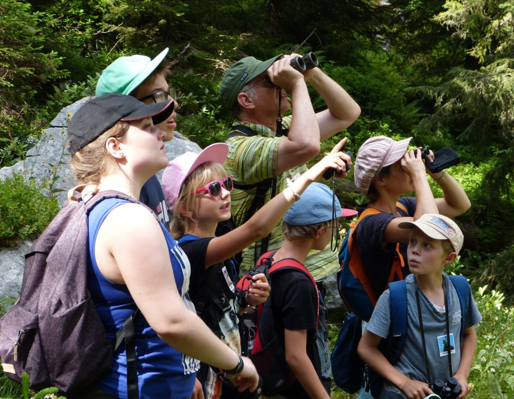 These youngsters on an A Rocha eco-adventure summer camp in Switzerland identified over 200 species including birds, mammals, salamanders and dragonflies. (A Rocha Switzerland)