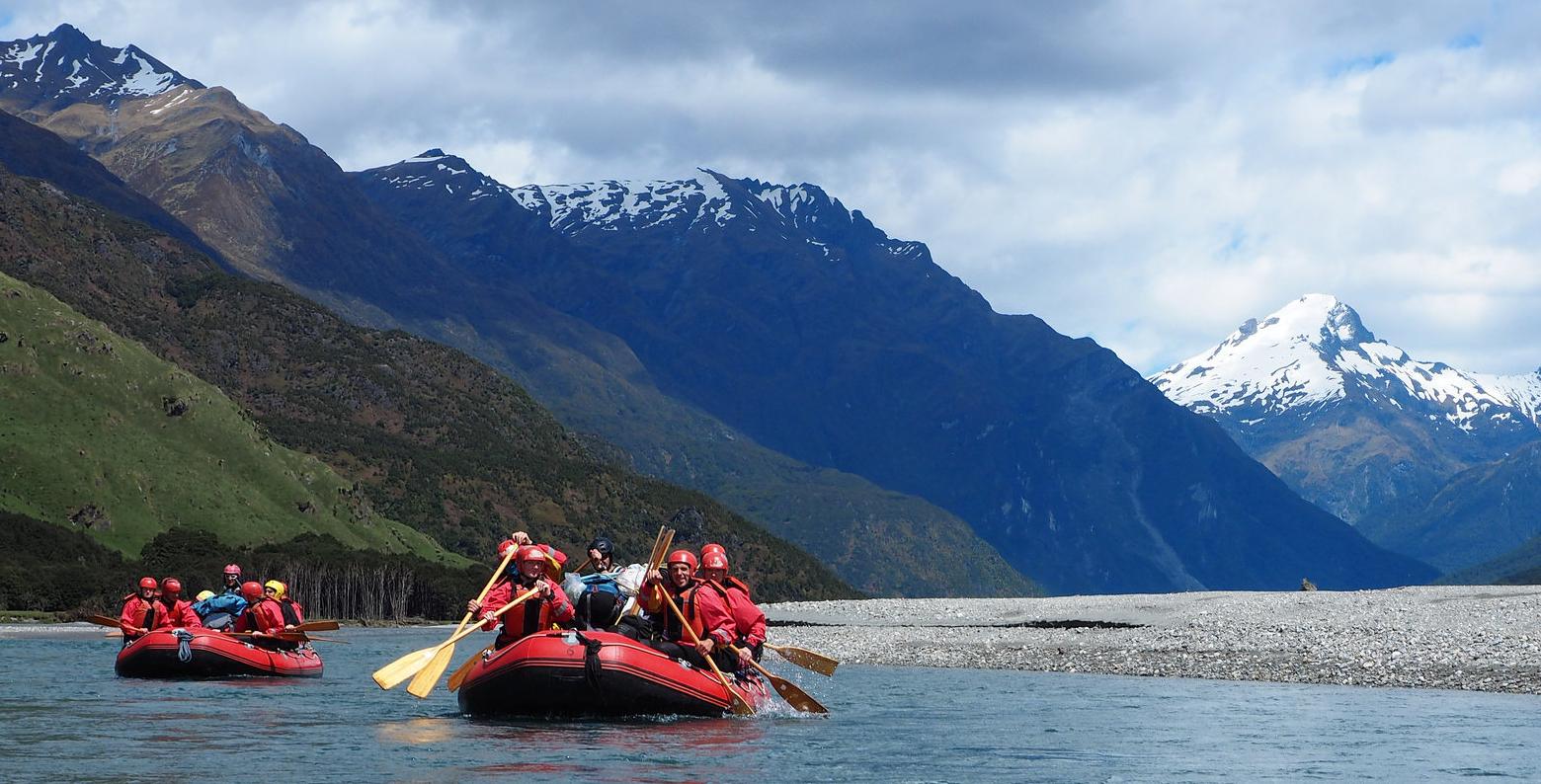 Rafting in Otago - Andrew Shepherd