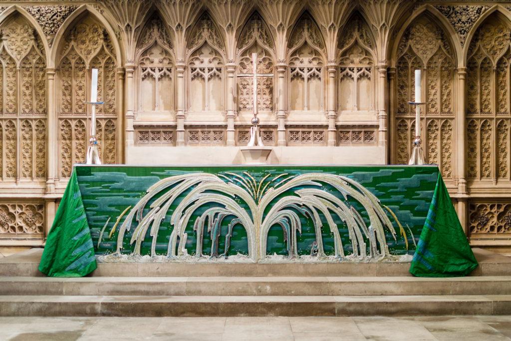 High Altar in Bath Abbey