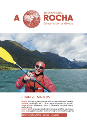 A Rocha International News - issue 61 (cover)