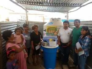 A Rocha Peru distributes supplies to flood victims