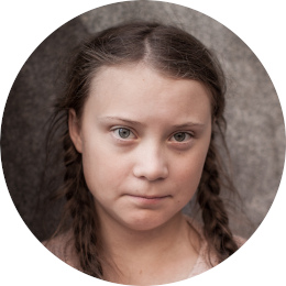 Greta Thunberg by Anders Hellberg CC BY-SA
