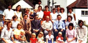 Primeiro encontro de A Rocha próximo a Liverpool, Inglaterra, em 1983