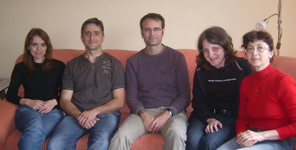 Alexandrina, Joro, Dean, Olya and Anelia meeting in Sofia