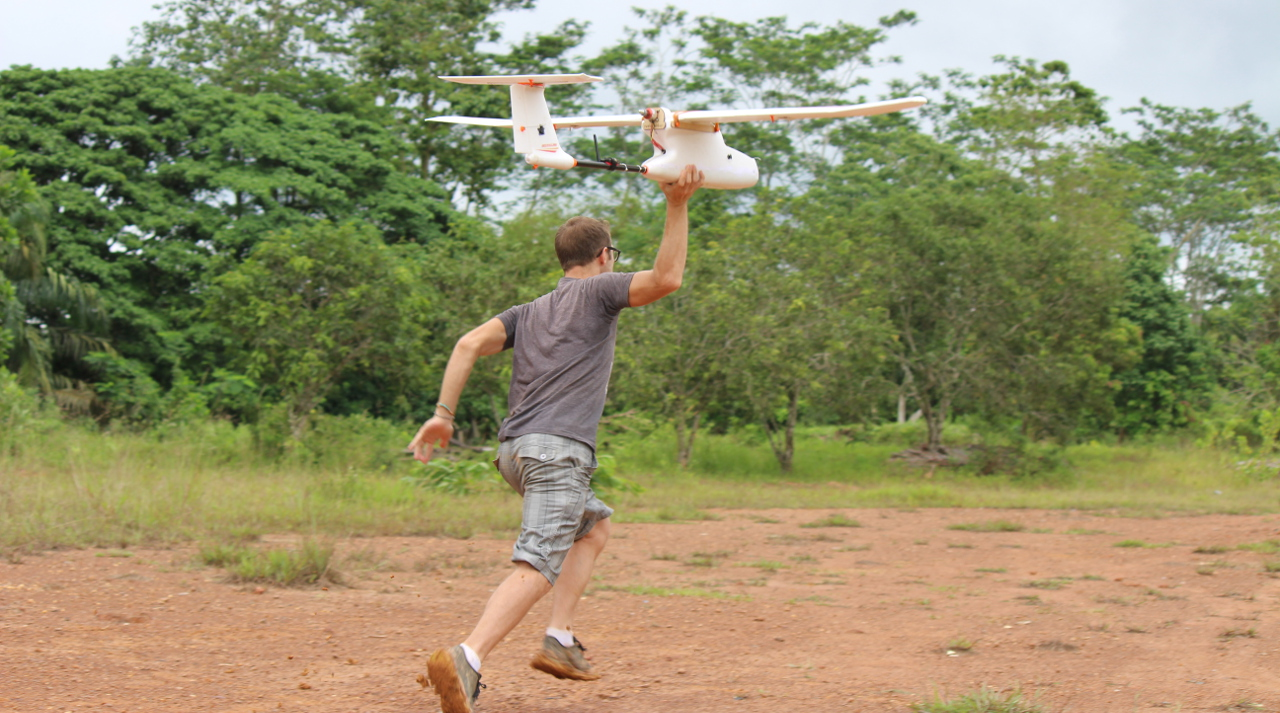 Launching a UAV
